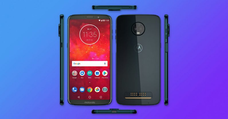 Leak: The Moto Z3 Play kills the giant bezels… and the headphone jack