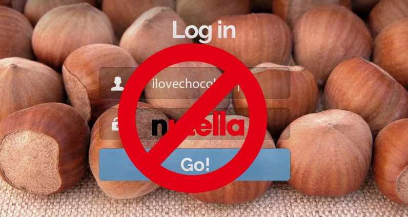 Nutella celebrates World Password Day with the worst security advice ever