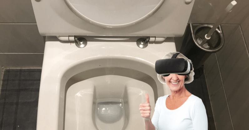 Can VR help us avoid food poisoning? Yes… yes it can