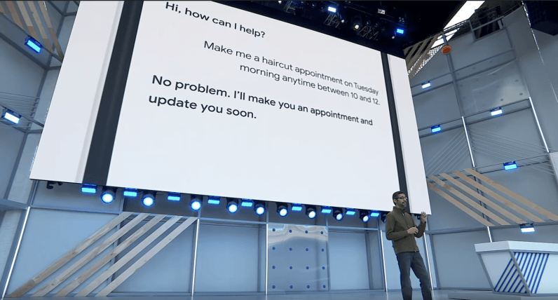 Duplex is just the latest reminder to manage expectations at Google I/O
