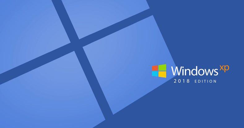 designer beautifully reimagines windows xp for 2018
