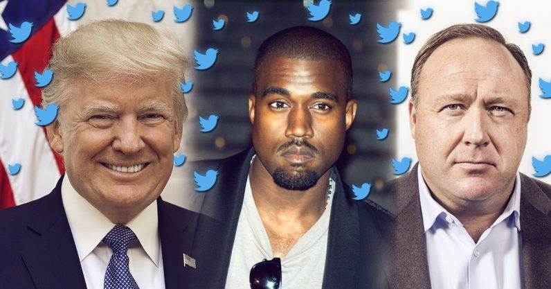 There's a logical explanation for @KanyeWest: Parallel universes