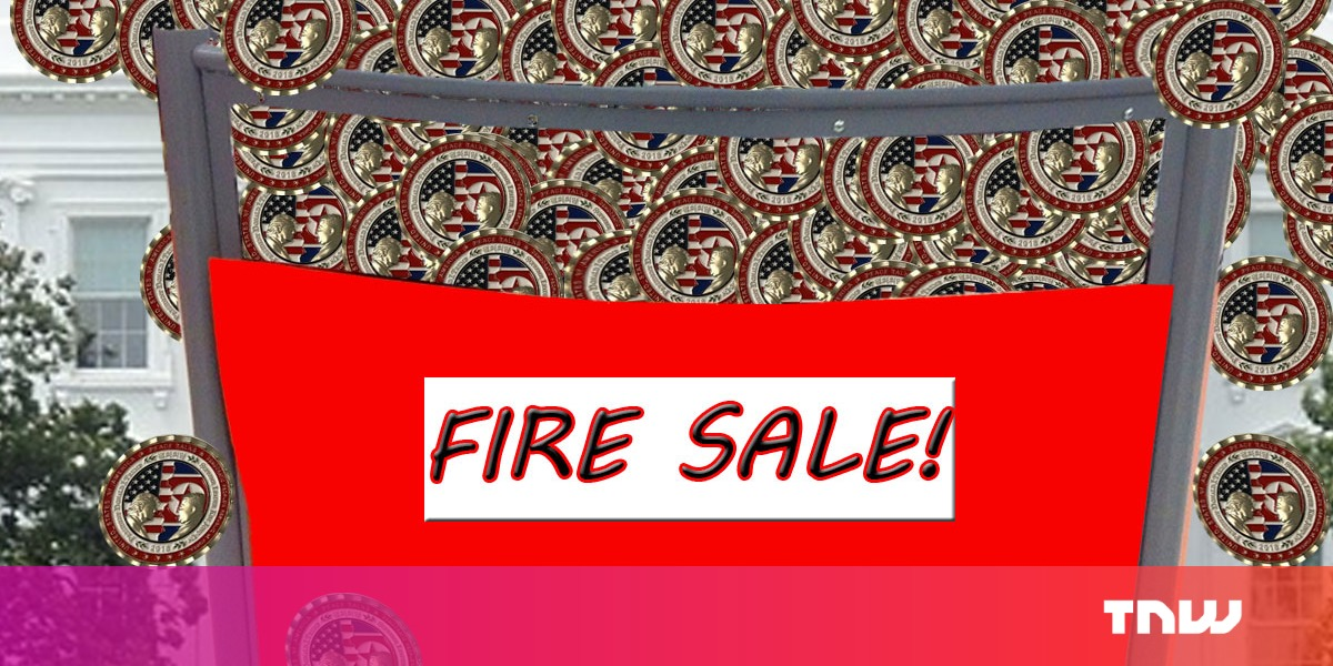 White House gift shop site crashes over demand for coin celebrating Kim and Trump