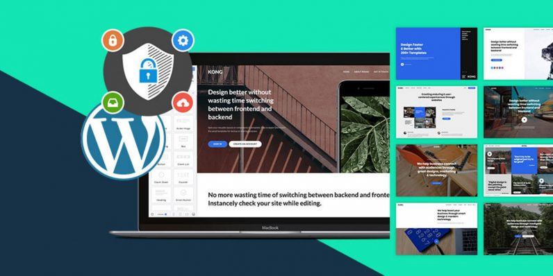 Create and host a WordPress powered site in minutes including top-notch security for under $50