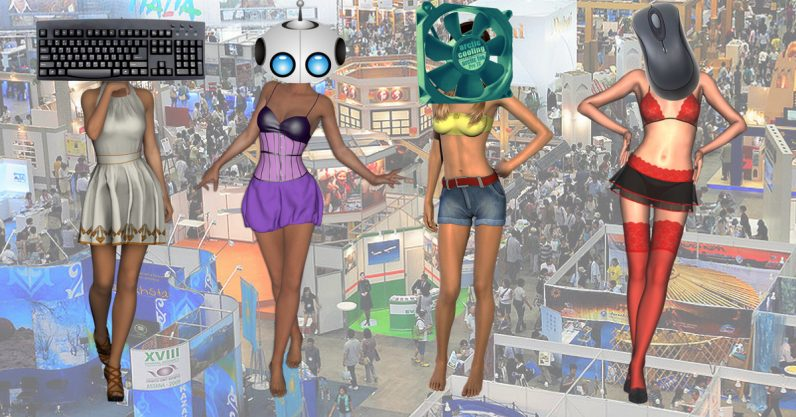 Dear Computex, please ban companies from using 'booth babes'