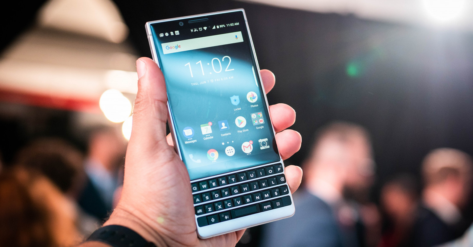Hands-on: The BlackBerry Key2 has me unreasonably excited