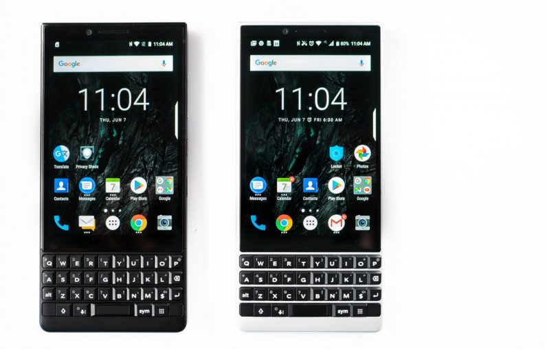 The BlackBerry Key2 is now available in the UK with an MSRP of £579