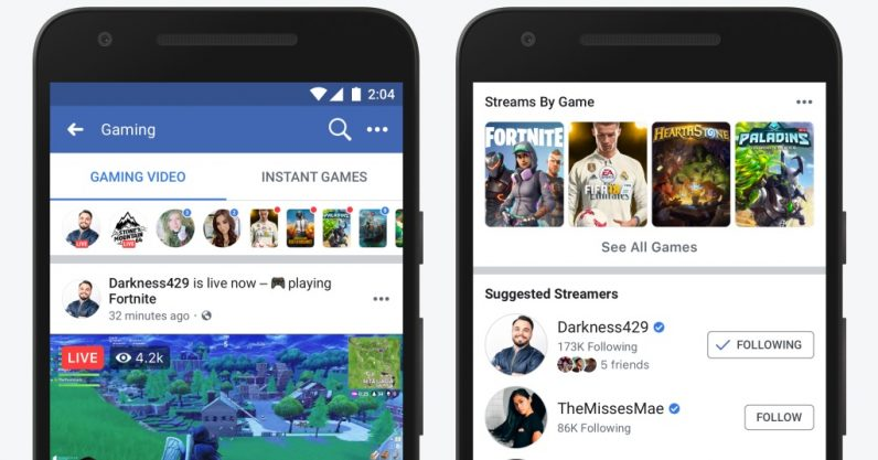 Facebook courts teen audience with dedicated game streaming page