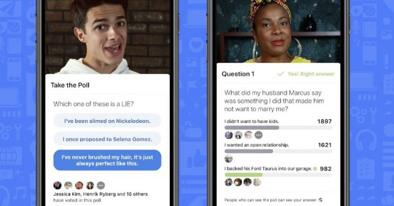Facebook Live update brings polling and trivia features