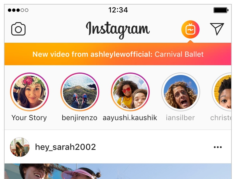 Igtv is instagrams answer to youtube either alienating an ig centric audience or being alienated yourself videos can be accessed from your profile via a button next to stories highlights solutioingenieria Gallery