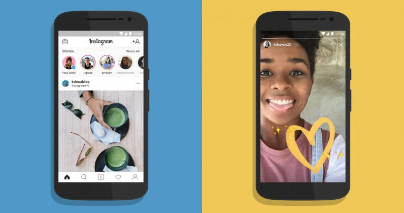 Instagram Lite appears on Google Play