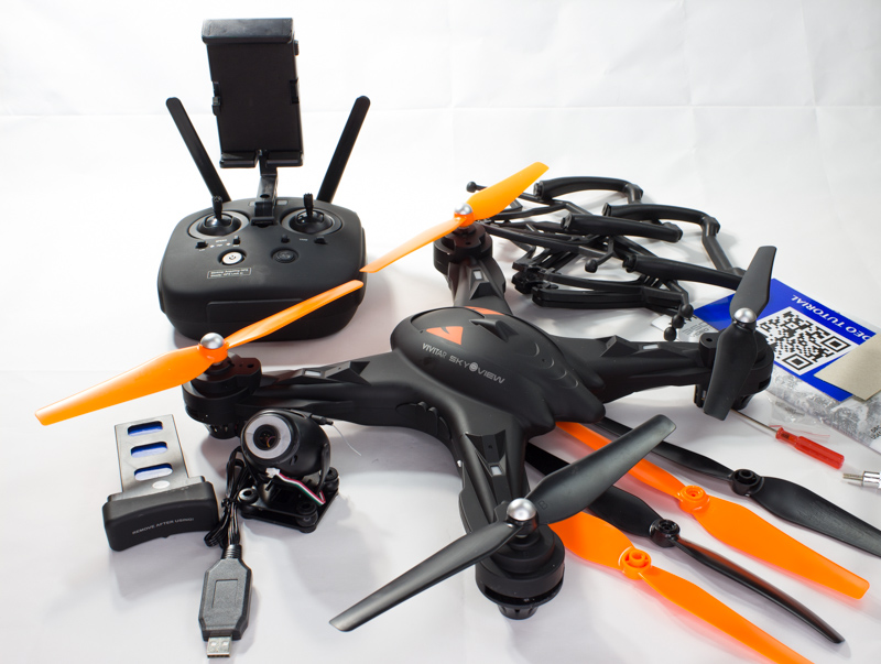 Vivitar Eye In The Sky Quadcopter Drone - Best Pictures and Model Of