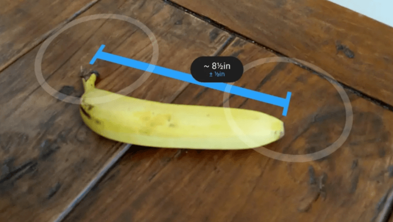 Google's AR measurement app to be soon available on Android phones