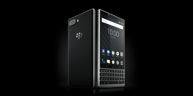 The BlackBerry Key2 is now official with a physical keyboard