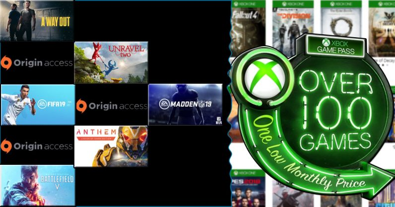 EA's Origin Access Premium and Microsoft's Game Pass finally get