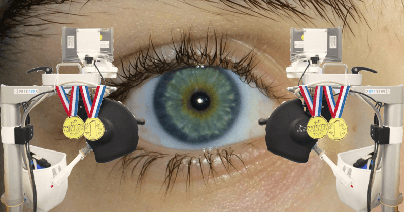A robot operated on a human eye for the first time ever