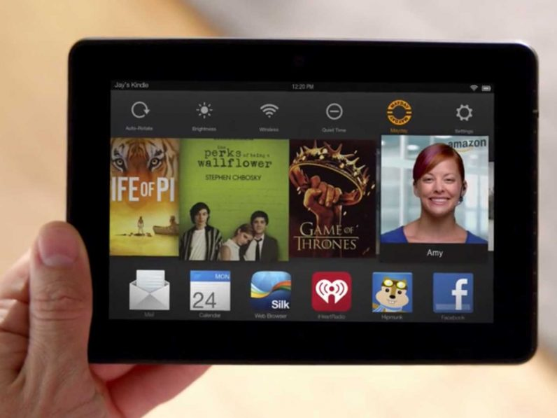 Amazon has discontinued the Mayday button on its Fire tablets