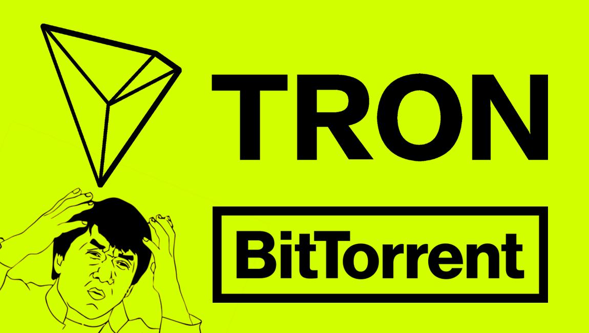Tron kainos šuolis ir Bittorent