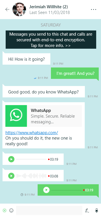 video call on whatsapp web
