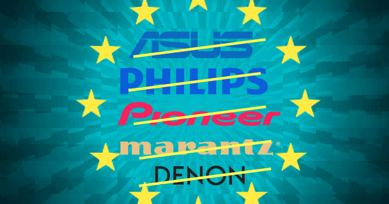 EU fines ASUS, Philips, Pioneer, and Denon & Marantz €111M for breaching EU antitrust rules