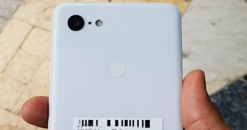 Leaked images show Clearly White variant of Google's Pixel 3 XL