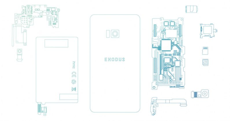 photo image HTC's blockchain-powered Exodus phone will arrive in Q3 and cost a bomb
