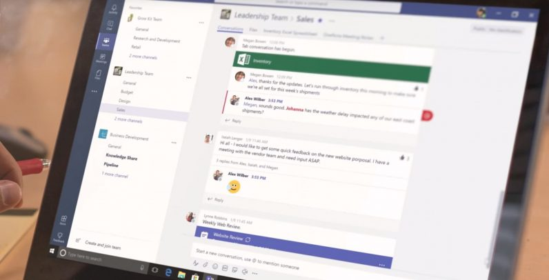 Microsoft rolls out free version of Teams to take on Slack