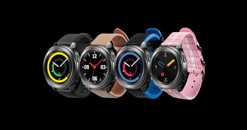 Official Samsung Galaxy Watch images and details leaked on Samsung's website