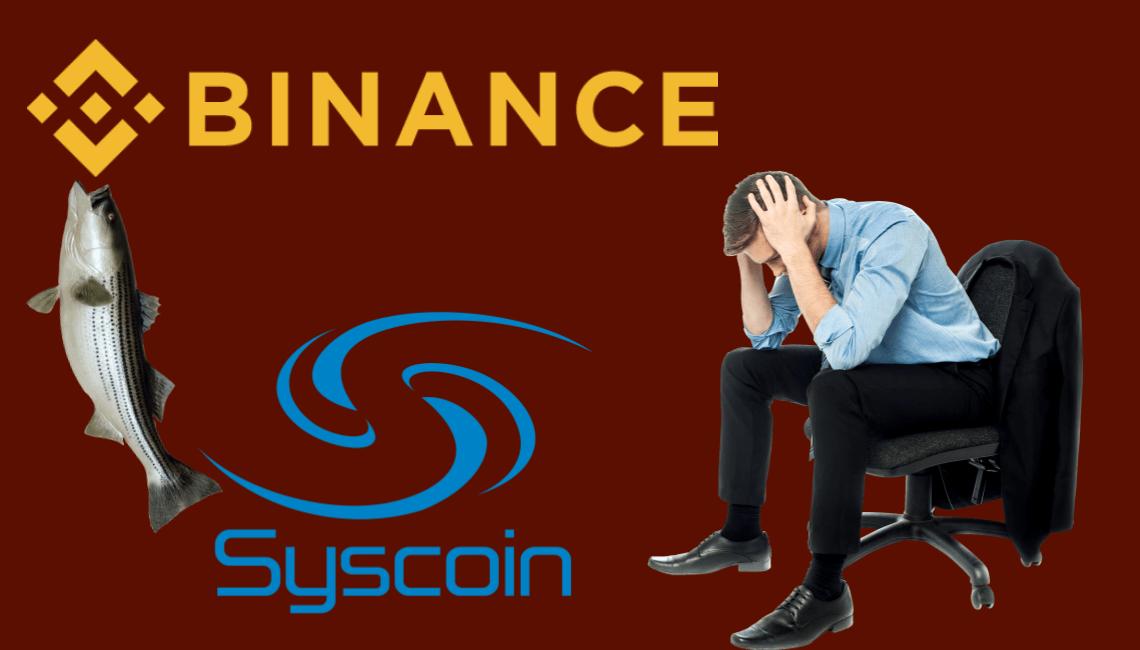 Binance resets API keys en masse amidst fear of Syscoin blockchain glitch [Updated]