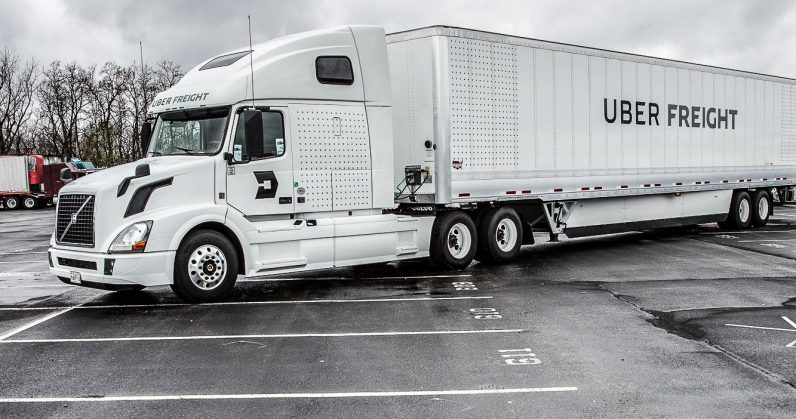 Uber hits the brakes on its self-driving truck division