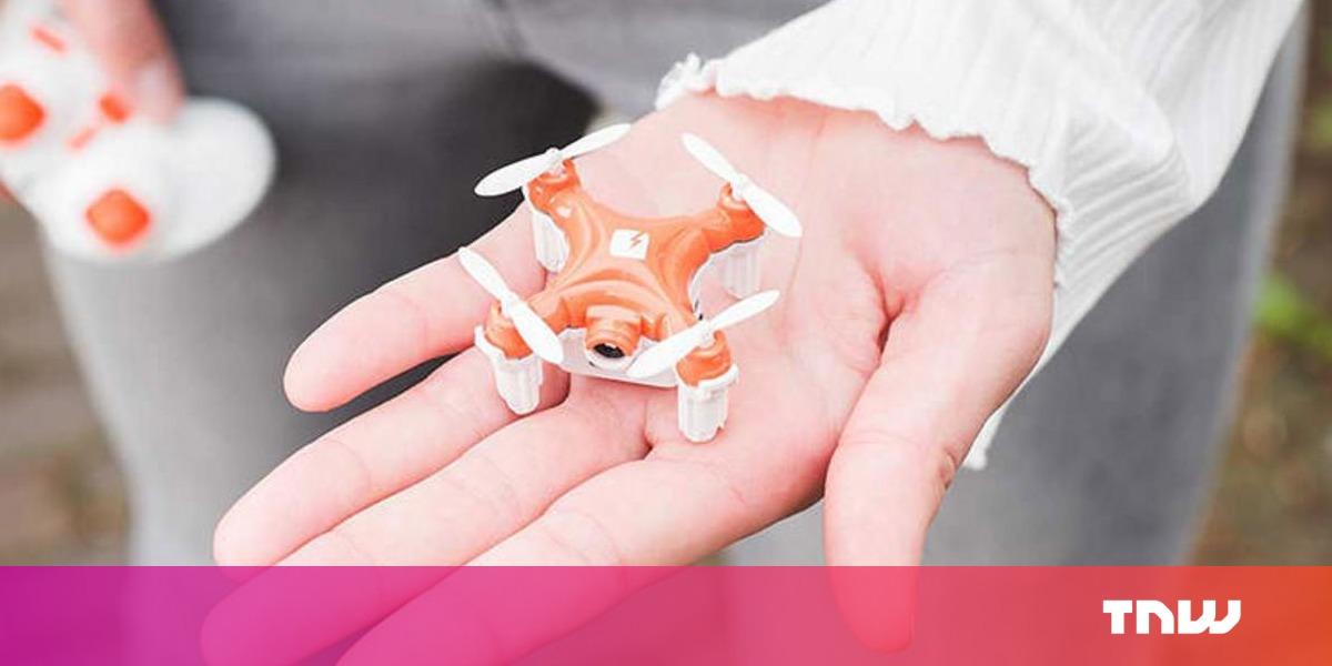 photo image Fly the world's smallest camera drone — now with a price tag to match
