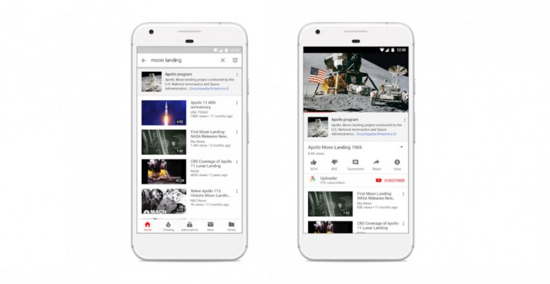 YouTube is cracking down on 'fake news' with new text previews
