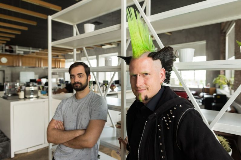 I'm fascinated by this startup founder's amazing haircut