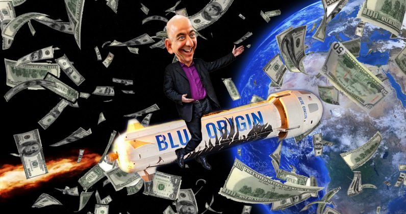 Jeff Bezos plans to charge upwards of $300,000 for a ticket to space