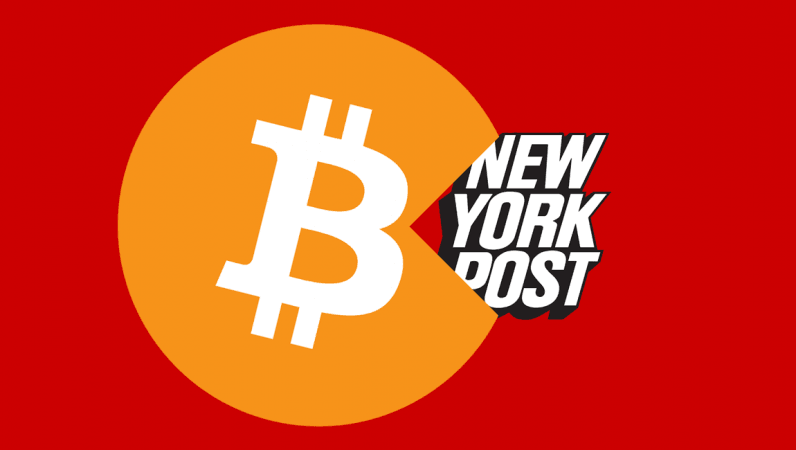 Dear NY Post, didn't you learn anything about Bitcoin?