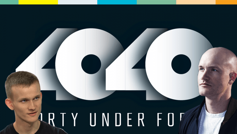 Cryptocurrency bigwigs invade the Fortune '40 Under 40′ list