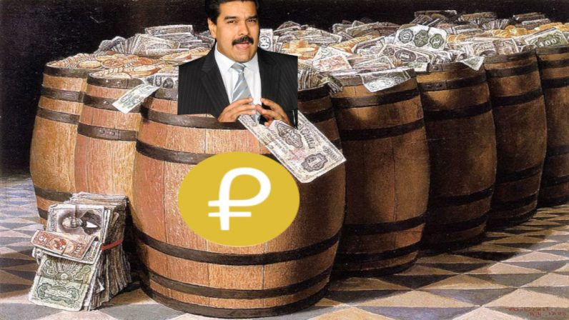 Maduros Petro cryptocurrency will be an official currency in Venezuela  like the Bolivar