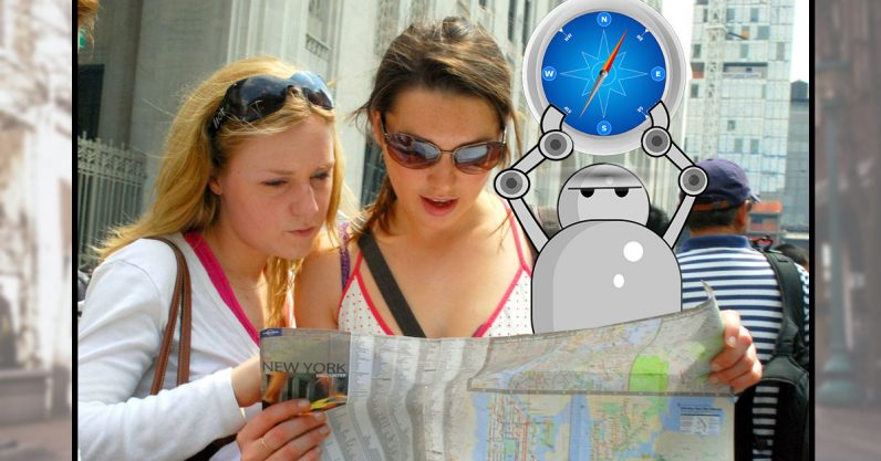 Facebook is teaching AI to talk you through directions
