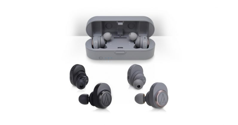 Audio-Technica's first true wireless earbuds look beautiful – and expensive