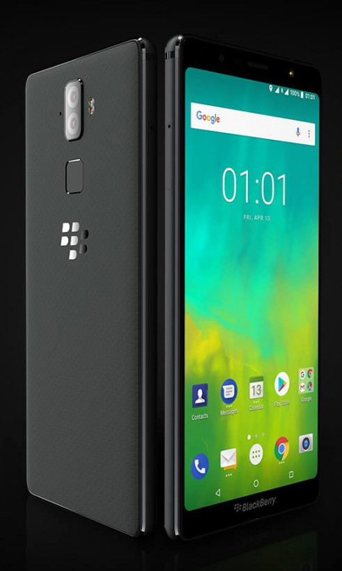 BlackBerry launches 2 keyboard-less Evolve phones with huge batteries