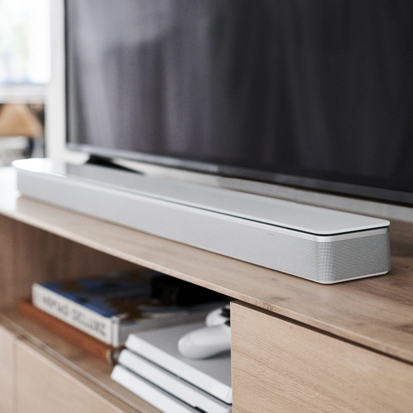The Bose Soundbar 700 comes with a universal remote