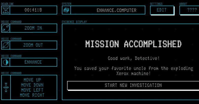 'Enhance': Browser game mocks Hollywood hacking tropes