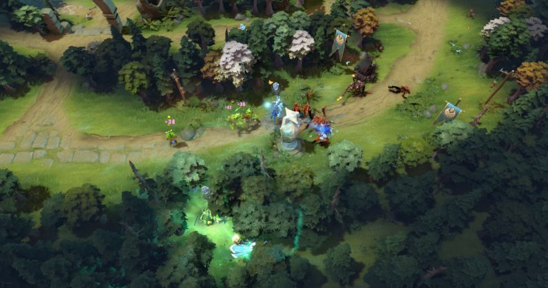 Dota 2 : 'Artificial intelligence' makes a record by defeating human players