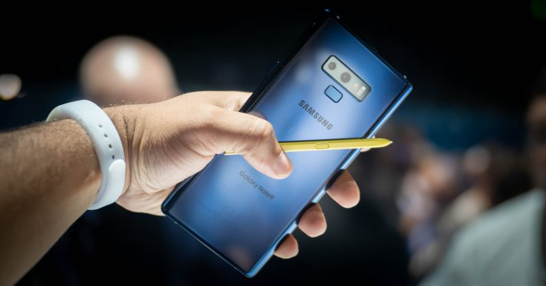 Samsung's Note 9 is a welcome return to obscene specs
