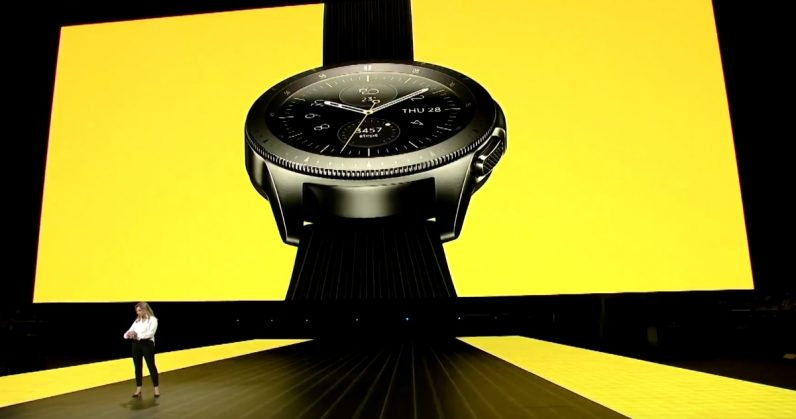 Samsung finally unveils its much-anticipated Galaxy Watch