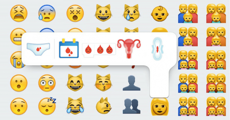 Period emoji could smash the stigma surrounding menstruation