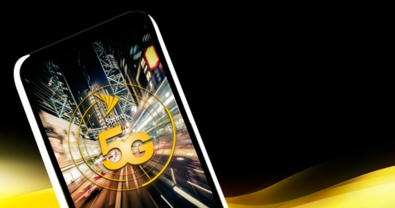 Sprint partners with LG Electronics for first 5G smartphone