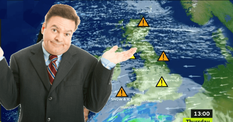Why the weather forecast will always be a bit wrong