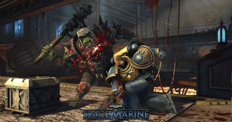 the excellent warhammer 40 000 space marine is free on pc today