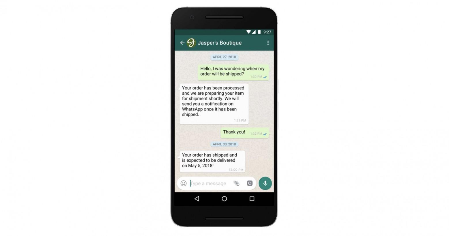 WhatsApp is finally ready to start making money